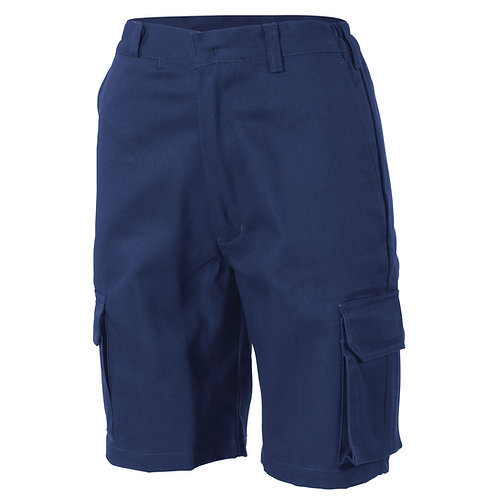 DNC Ladies Cotton Drill Cargo Shorts