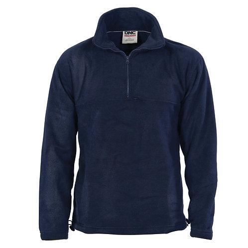 DNC Workwear Unisex Half Zip Polar Fleece (5321)