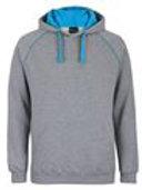 JB's Contrast Fleecy hoodie
