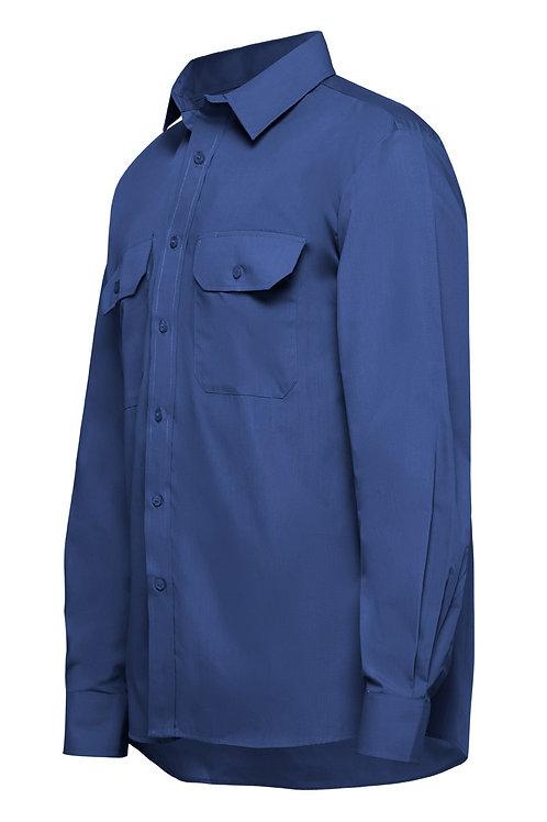 Yakka L/SL Poly Cotton shirt, Permanent Press