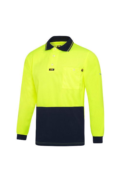 Visitec basic Airwear Polo Shirt Long Sleeve