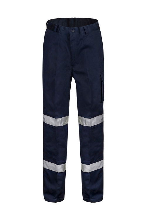 Workcraft Mid Weight Cargo Trouser with 3M Reflective Tape