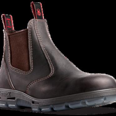 Redback Work Boots - UBOK Bobcat Claret Oil Kip