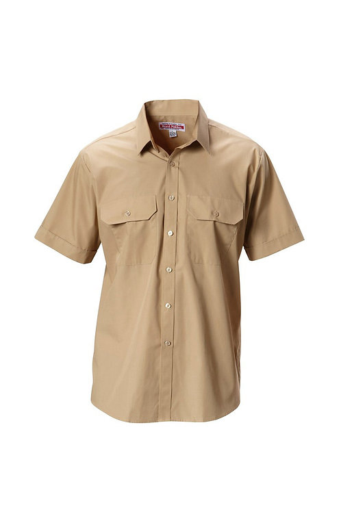 Yakka Poly Cotton S/SL Shirt Permanent Press