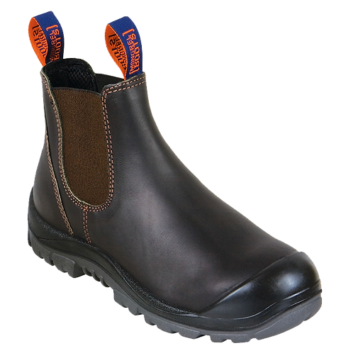 Mongrel 'R' Series Oil Kip Elastic Sided Work Boots