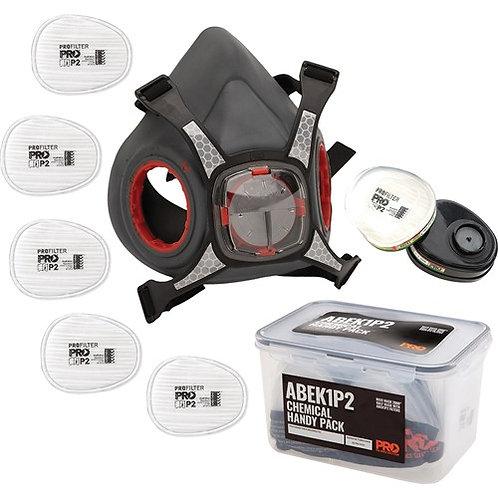Pro Choice Maxi Mask 2000 Half Face Respirator Chemical Kit Handy Pack