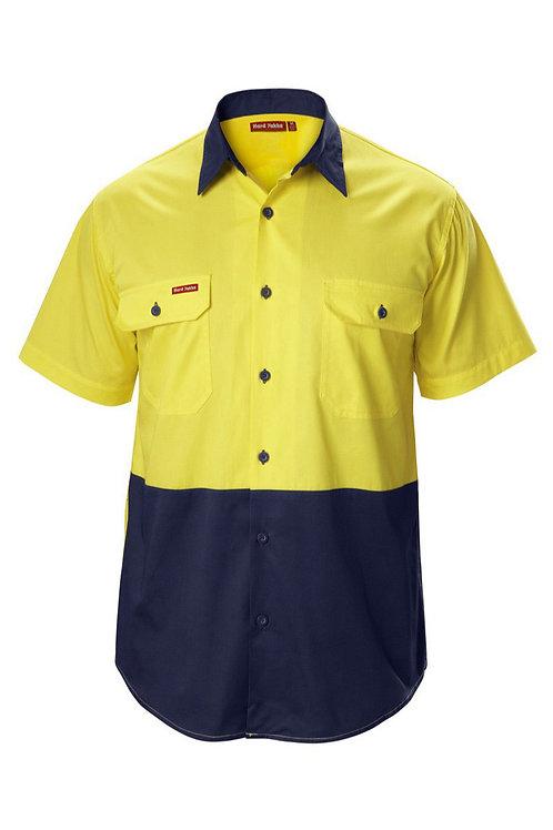 Yakka S/SL Hi-vis Koolgear shirt with Ventilation