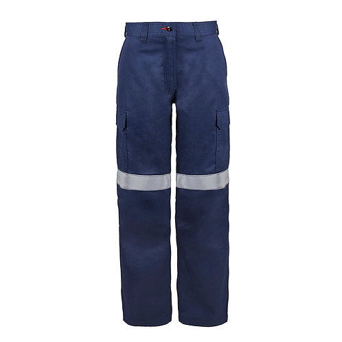 Flamebuster, ladies  PPE2 Cargo pants with reflective tape