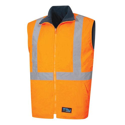 TRu wet weather reversible two tone vest