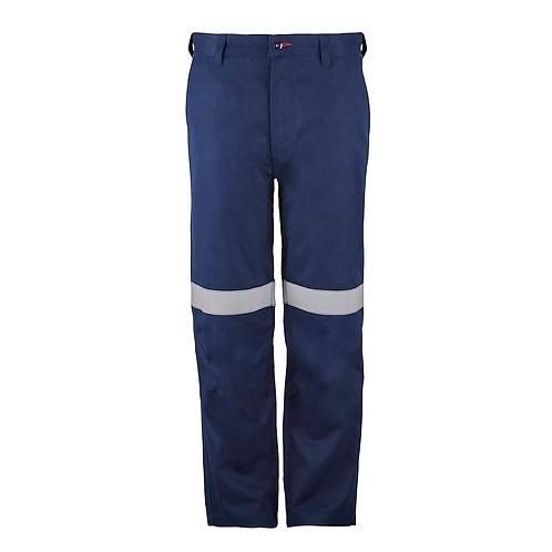 Flamebuster flat front pant PPE2. with Reflective Tape