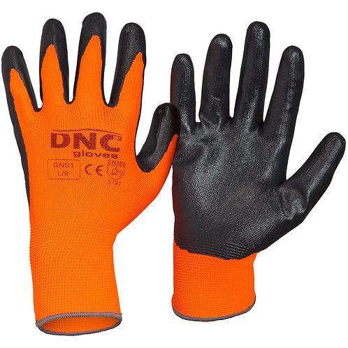 Nitrile Basic smooth finish Gloves