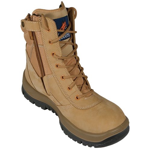 Mongrel Boots 'P' Series Wheat High Leg ZipSider Boot