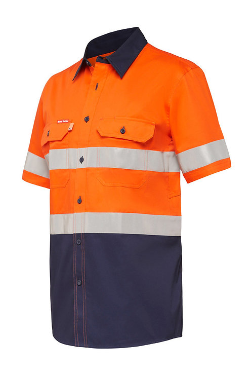 Koolgear Hi-vis two tone taped S/SL Shirt