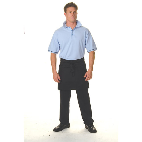 DNC Workwear P/C Short Apron With Pocket