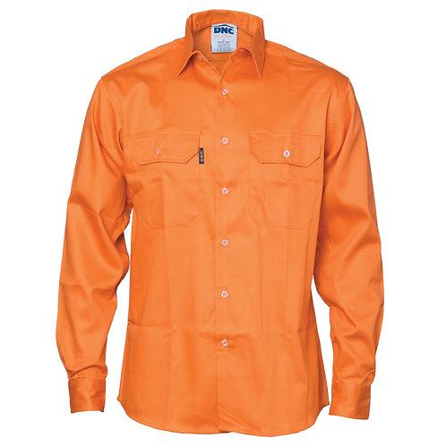 DNC Patron Saint® Flame Retardant Drill Shirt Long Sleeve