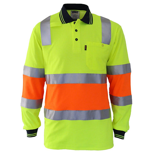 DNC HiVis Cool-dry 2T Bio-motion D/N Polo
