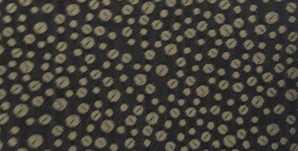 Black and Gold Small Dots