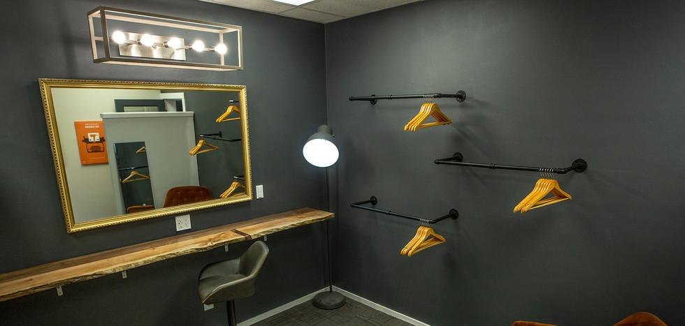 Hair & Makeup Room