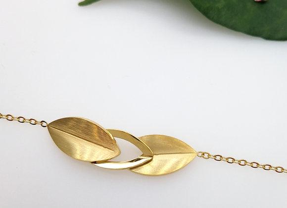 Bracelet Trois feuilles