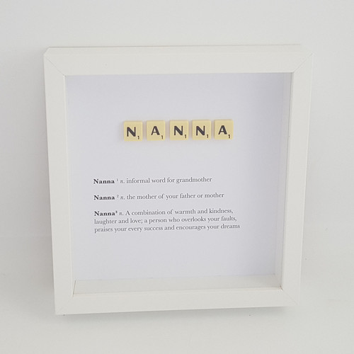 Scrabble Definition Frames | Made With a Smile | UK