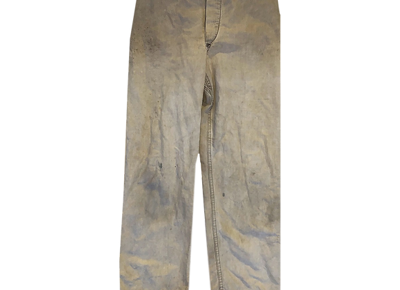 Archive Distressed Military Two Tone Pant