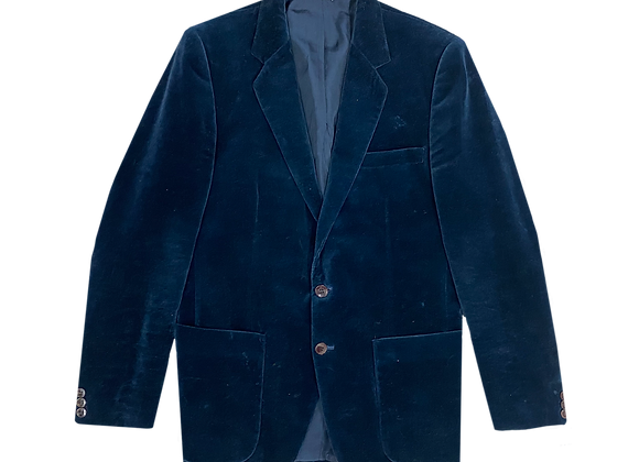 Archive Ralph Lauren Velvet Suit Blazer