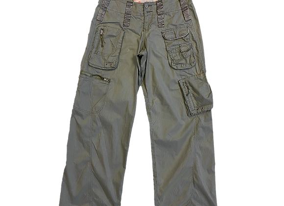 Archive Olive Utility Cargo Pants