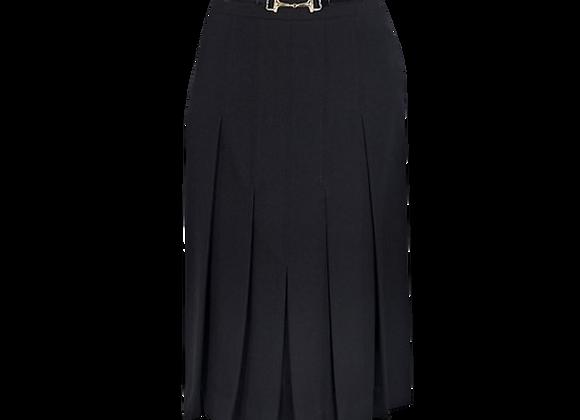 Céline Wool Pleated Skirt