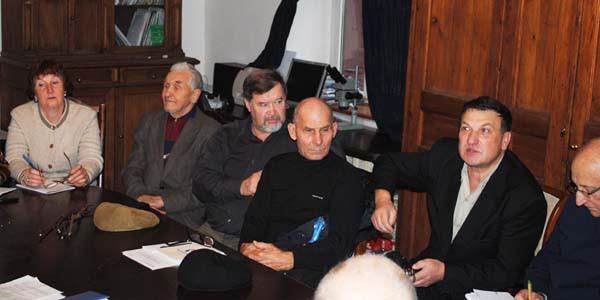 Учредительное собрание организации Московского клуба виноградарей