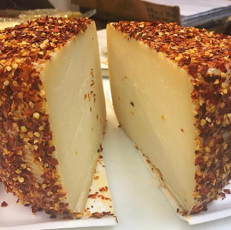 house aged calabrese cheese