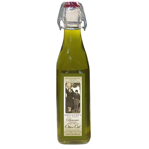 Giovanni's First Pressed Reserve Olive Oil