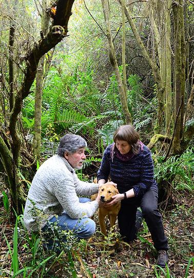 Erika Klein + Izidor Carlos Mora en Condominio Eco-Patrimonial Los Chaquihues de Chamiza