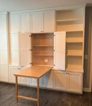 Custom Built-in with Murphy Desk Open