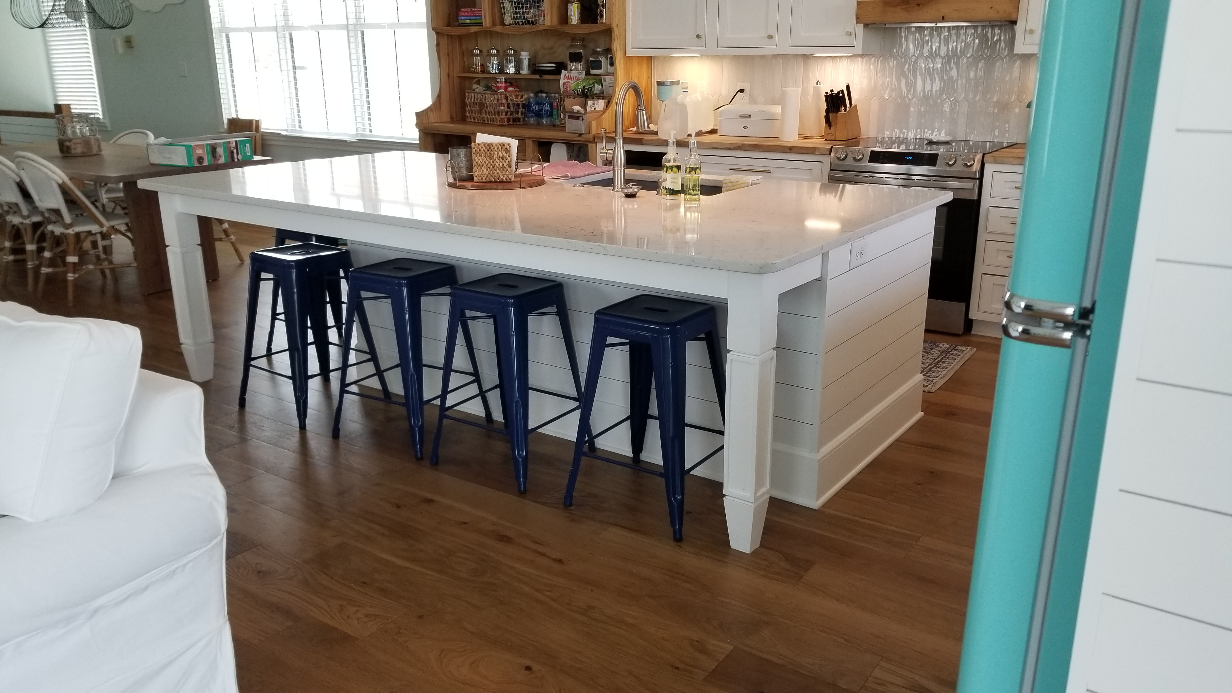 Handmade Custom Shaker Kitchen Island