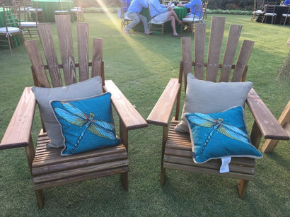 Handmade Adirondack Chair Set
