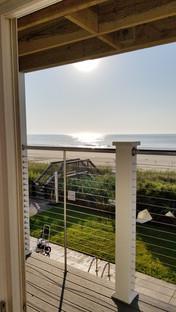 Ocean Front Deck View