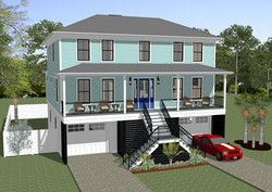 20-138 Spec House Rendering