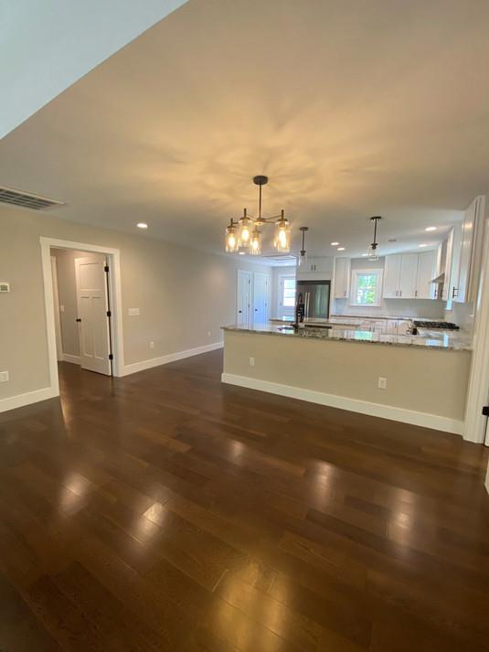 Renoed Main Living and Kitchen