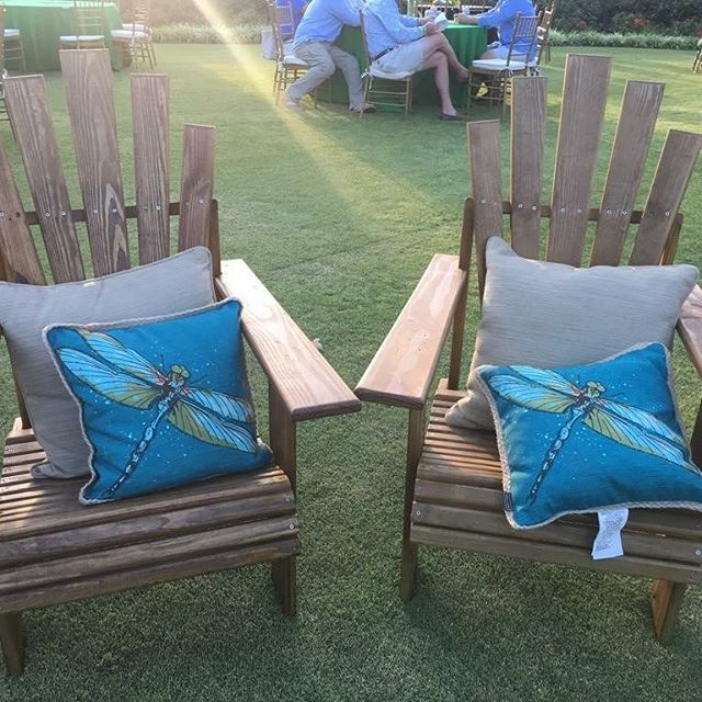 Take a look at these Adirondack chairs w