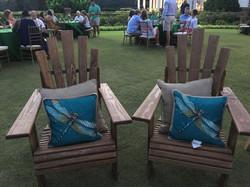 Handmade Adirondack chairs