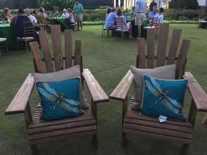 Handmade Adirondack Chair Set
