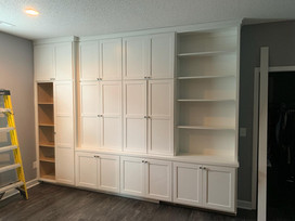 Custom Built-in with Murphy Desk