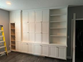 Custom Built-in with Murphy Desk