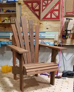 Handmade Ipe Adirondack Chair