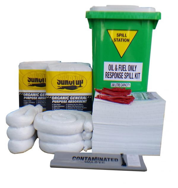 OIL, FUEL, & HYDROCARBON SPILL KITS