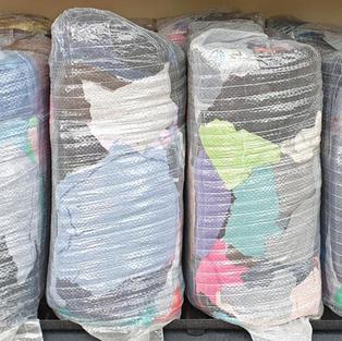 COLOURED TOWEL RAG - 10KG
