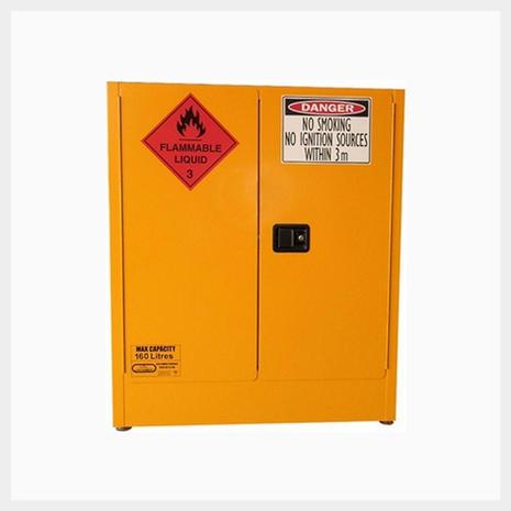 160 Litre Flammable Liquid Storage Cabinet BCFLS160L