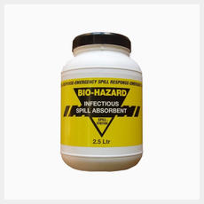 BW250 Biohazard Absorbent – Powder 2.5 Litre