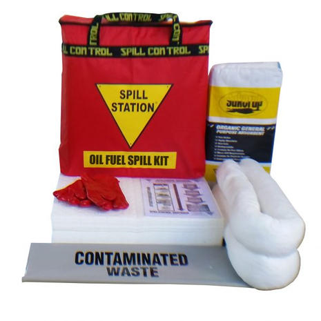 TSSIS40OF OIL & FUEL SPILL KIT 40 LITRE.