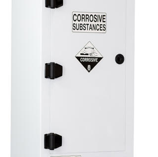 PCSSC80 - CORROSIVE SUBSTANCE POLY STORAGE CABINET - 80 LITRE